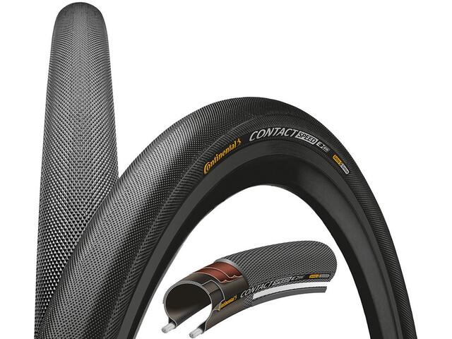 "Continental Contact Speed Fietsband Double SafetySystem Breaker 28"" draadband zwart"
